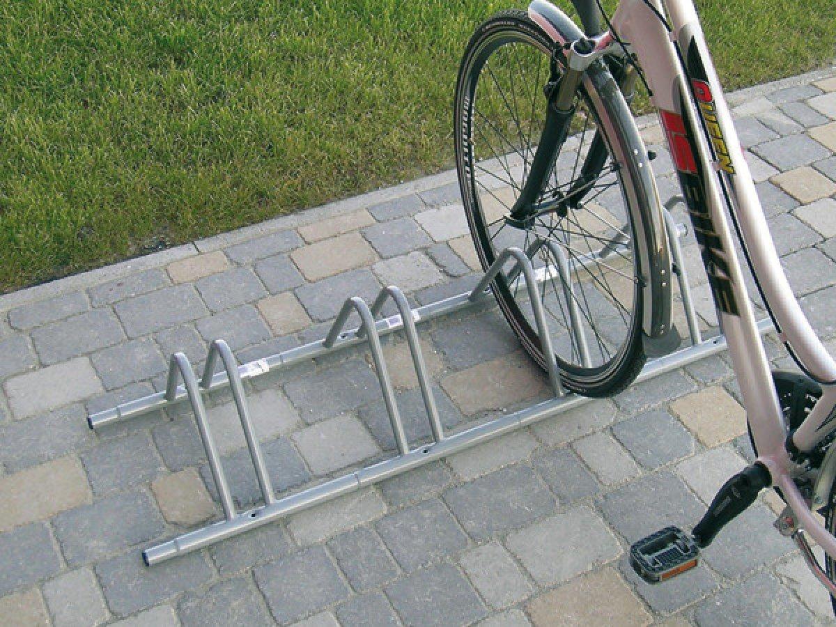 Подставка под велосипеды своими руками